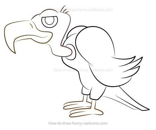 Cartoon Vulture on cute christmas ideas html
