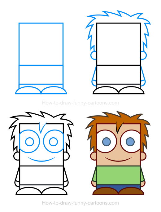 How To Draw A Child Clipart