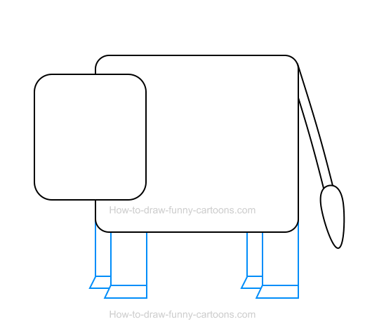 How to Draw a Cow Icon