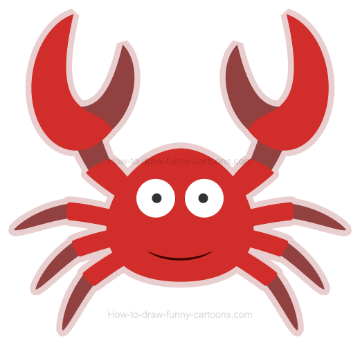How to Draw a Crab Icon