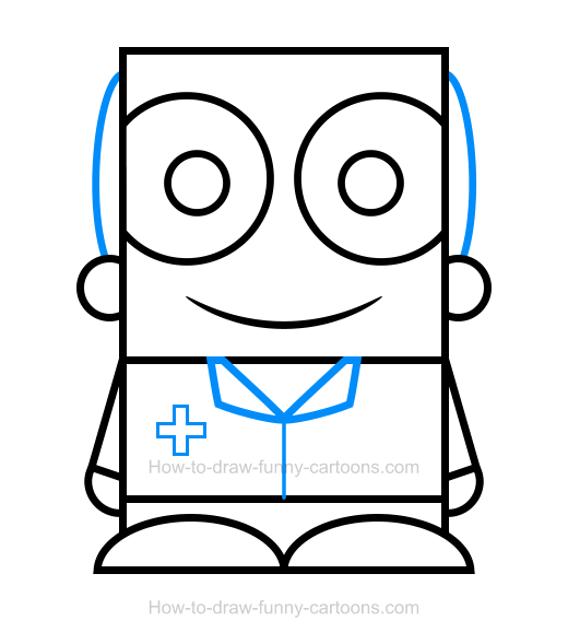 How To Draw A Doctor Clipart