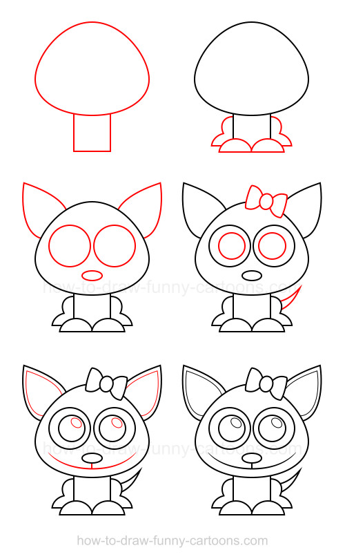 How to draw a chihuahua
