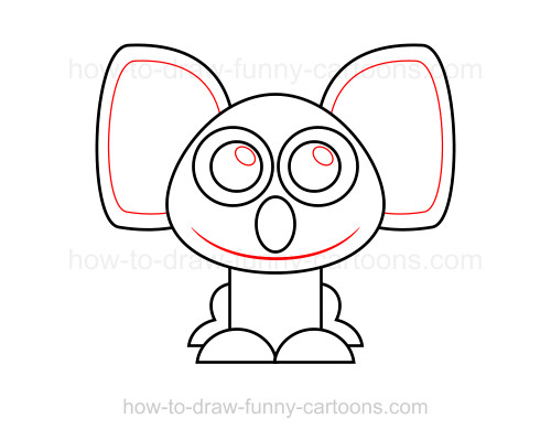 How to draw a koala
