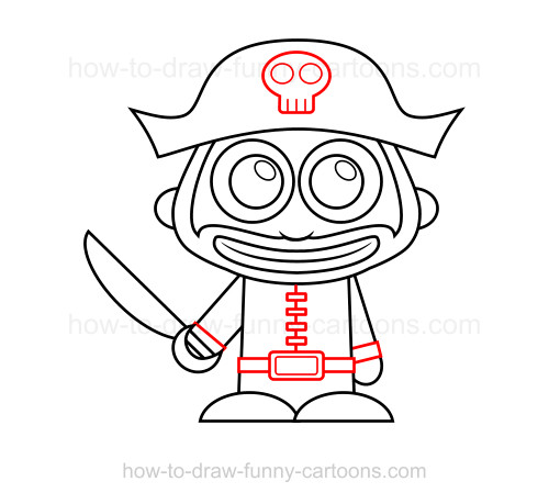 How To Draw A Pirate