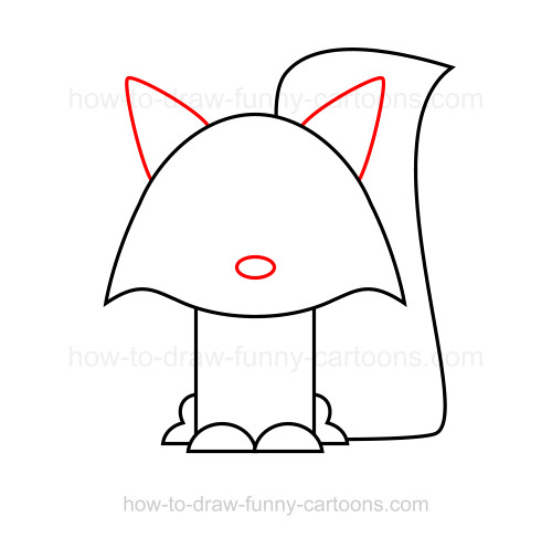 How to draw a raccoon Raccoon Drawing Easy