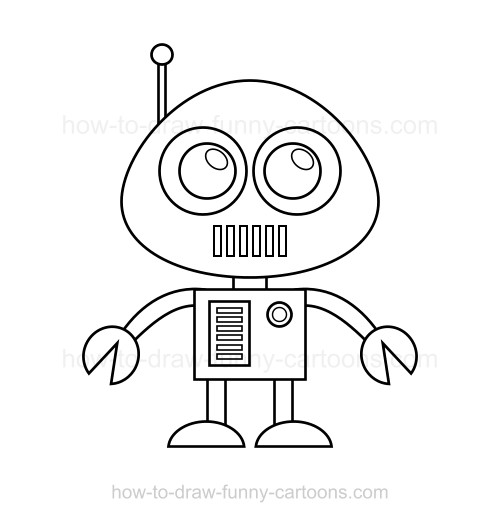 How to draw a robot for Drawing websites that you can draw on