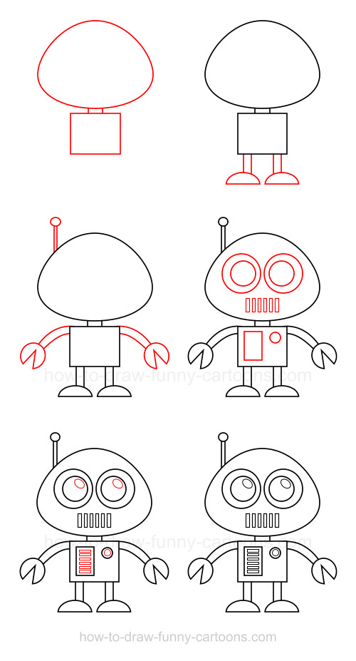 how to make a simple robot step by step