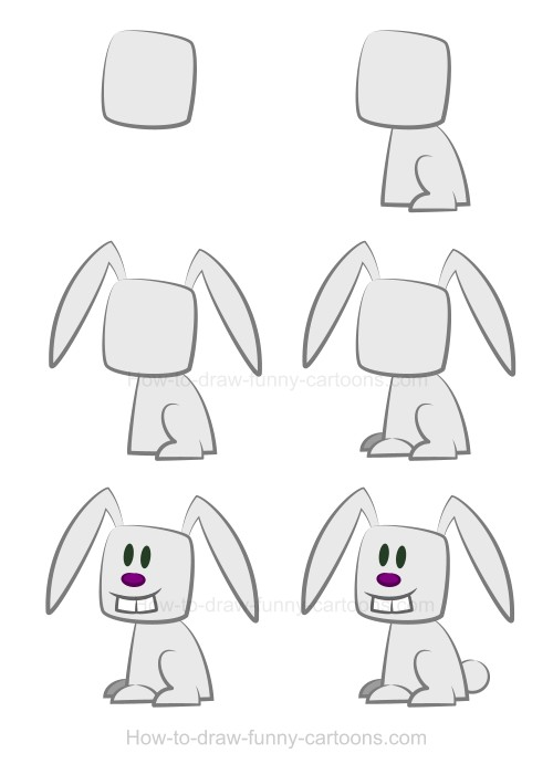 Drawing a rabbit