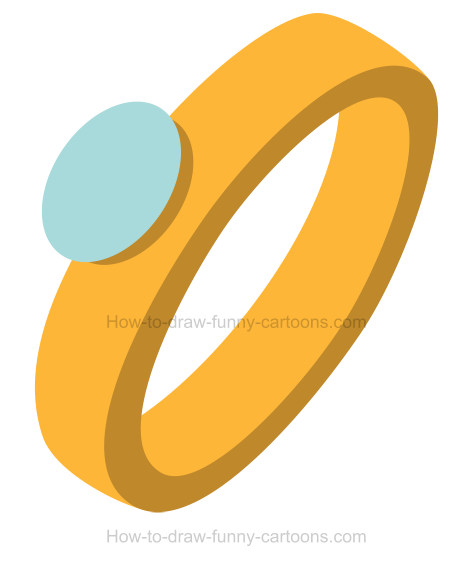 Learn How To Draw An Engagement Ring Clip Art