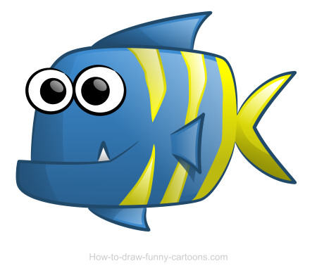 Cute Fish Drawings Fish Drawing