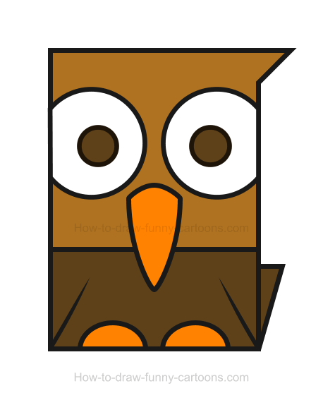 How to Draw a Hawk Clipart