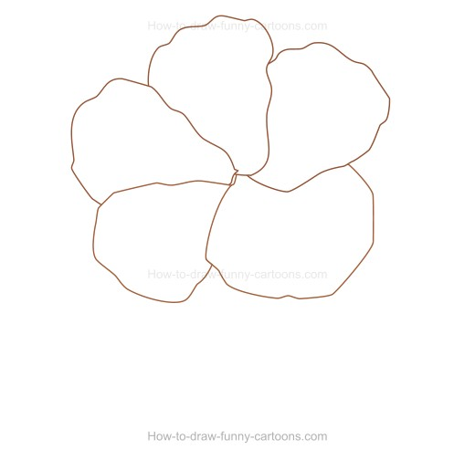How to create a hibiscus drawing for How to make creative drawings