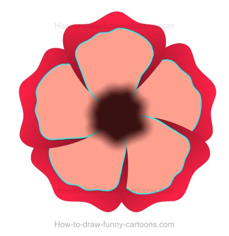 How to Draw A Poppy