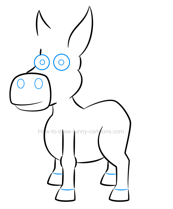 how to draw a mane