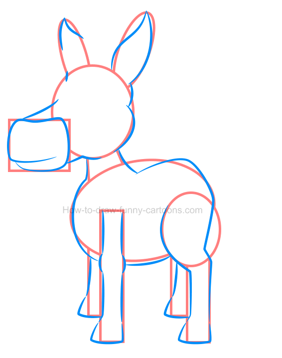 How to draw an illustration of a horse