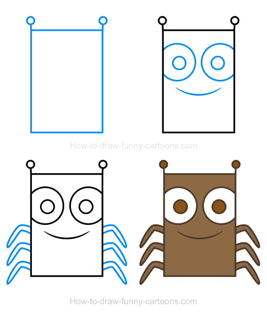 How to Draw an Insect Clipart