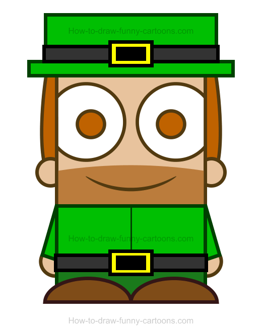 How To Draw An Irish Clipart