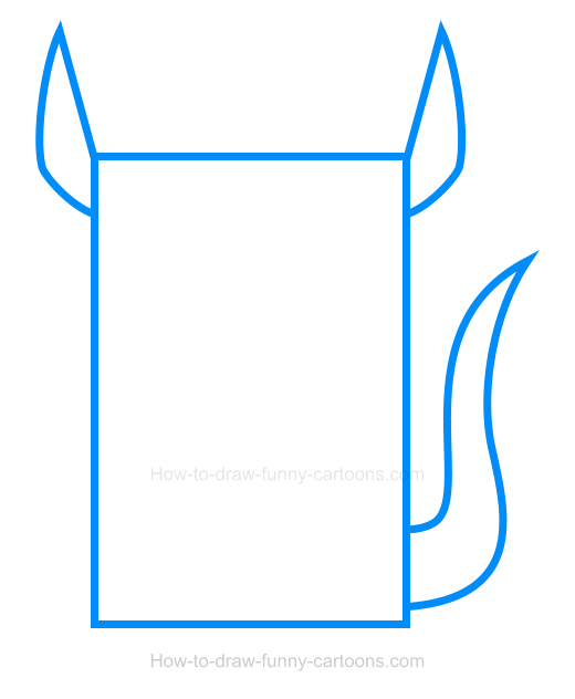How to Draw a Kangaroo Clipart