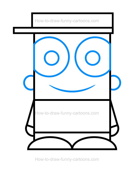 How To Draw A Kid Clipart