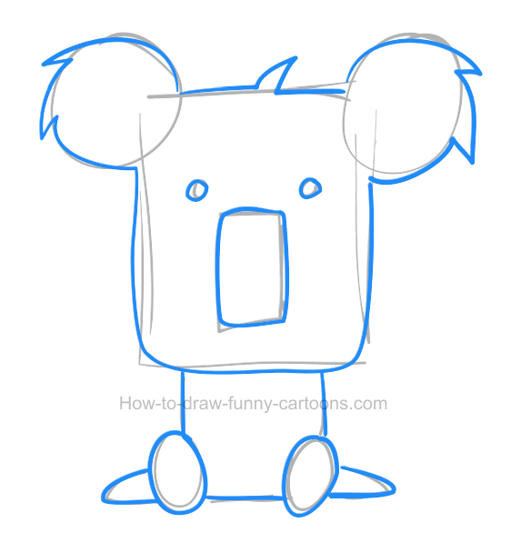 Koala Drawings Clip Art