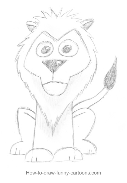 lion drawings