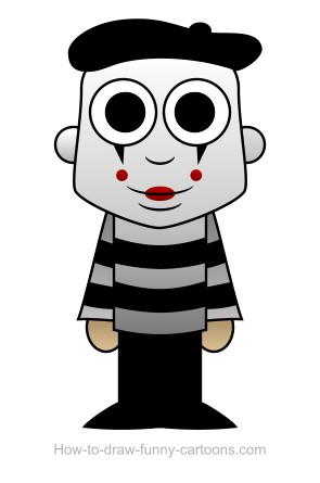 mime drawing