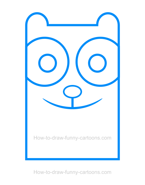How to Draw a Panda Clipart