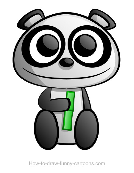 Panda Drawing Sketching Vector