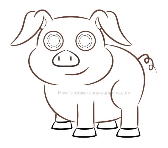 How to create a pig picture