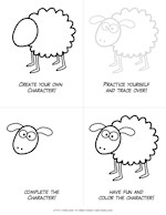 printable sheep