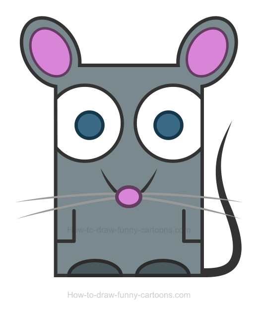 How to Draw a Rat Clipart