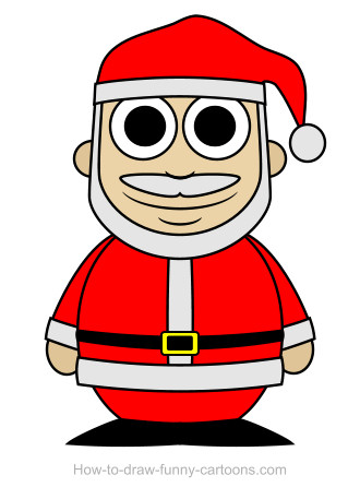 Santa Claus drawing (Sketching + vector)