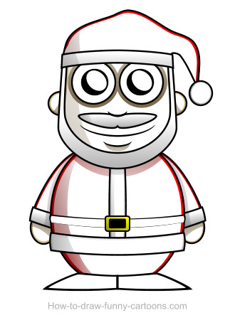 Santa Claus drawing