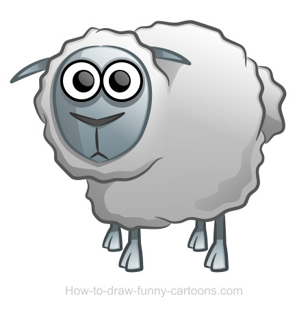 Sheep drawing