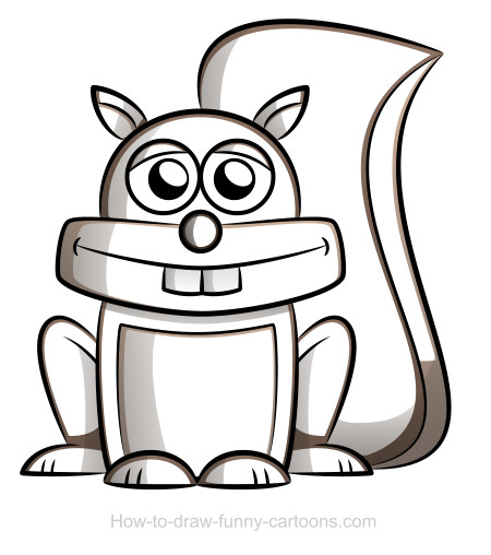 Squirrel Drawing Sketching Vector