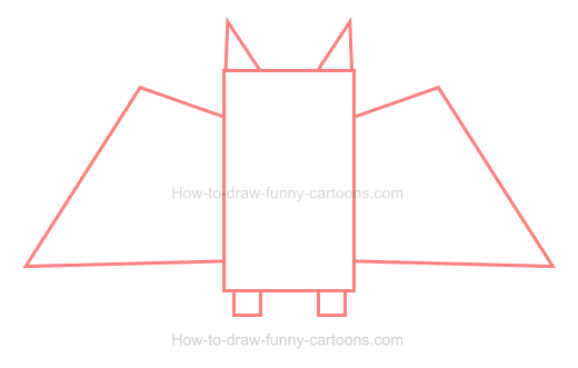 How To Draw A Bat Icon