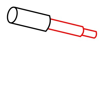How to Draw A Cartoon Telescope