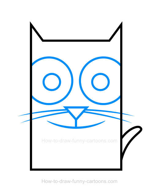 How to Draw a Cat Clipart
