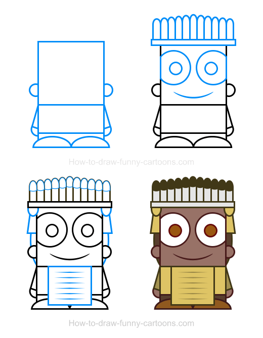 How To Draw A Chief Clipart