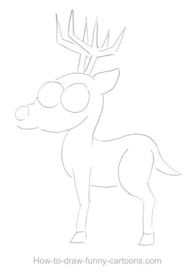deer drawings  sketching   vector
