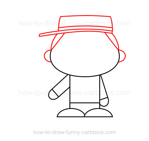 How to Draw A Confederate Soldier
