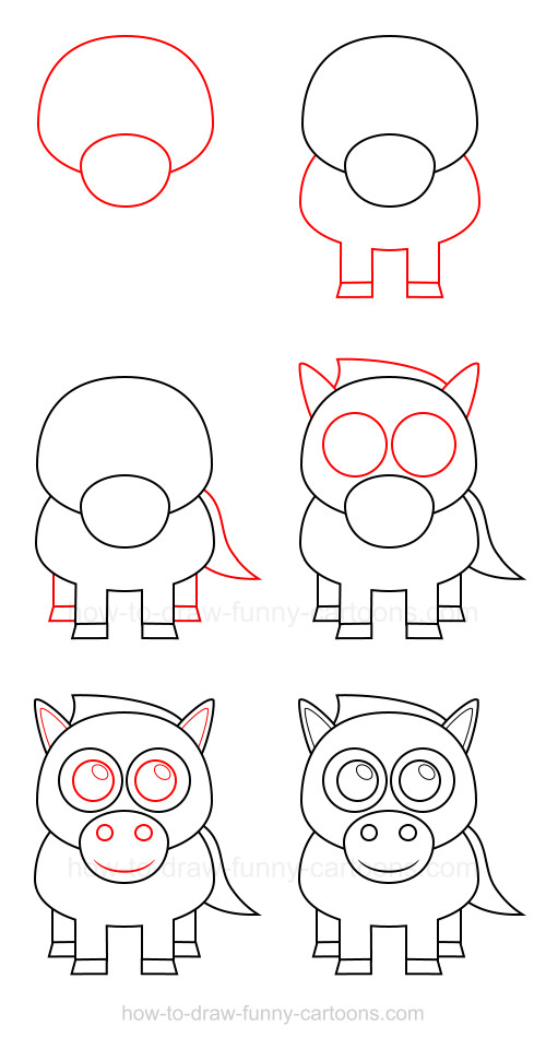 How To Draw Cartoon Animals
