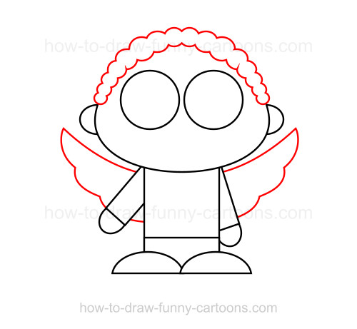 How to Draw Cupid