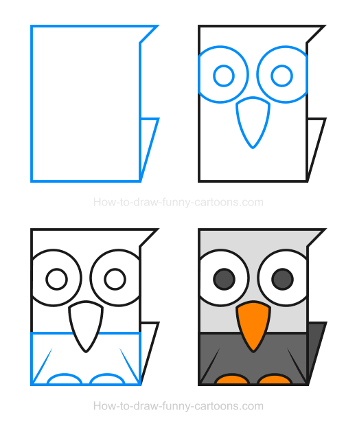 How to Draw an Eagle Clipart