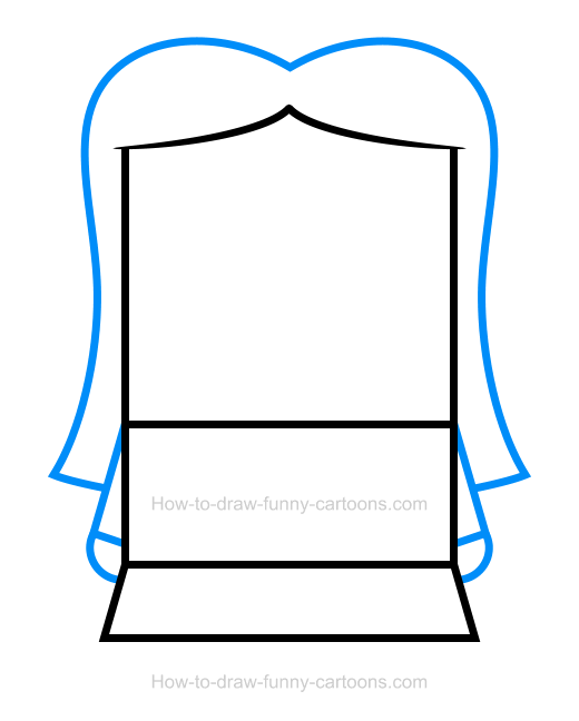 How To Draw A Girl Clipart