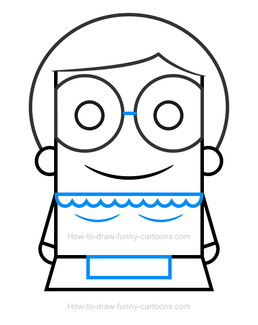 How To Draw A Grandma Clipart
