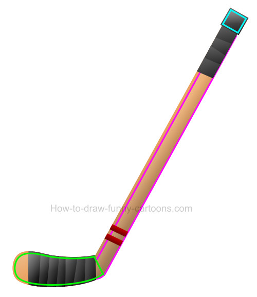 Hockey stick clip art