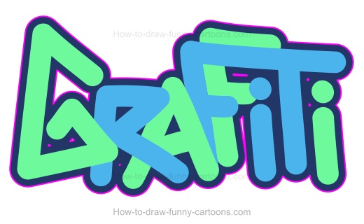 How to Draw Graffiti Images