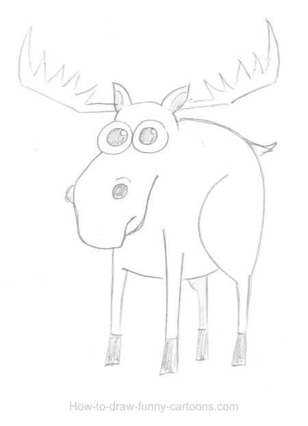 Moose drawings