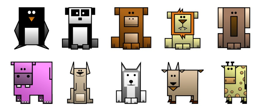 54 Animals (Preview)